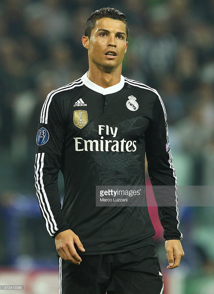 31d80ddb0 Champions League 14-15. Away Shirt. Cristiano Ronaldo. Real Madrid ...