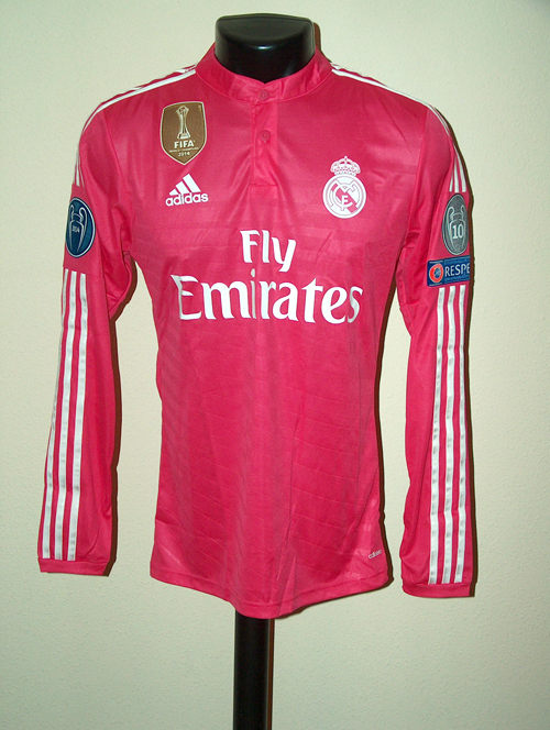 c31086df8 Champions League 14-15. Away Shirt. Bale. Real Madrid ...