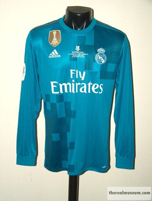 460a1a37b Spanish Super Cup Final 17-18. Away Shirt. Cristiano Ronaldo. Real Madrid  ...