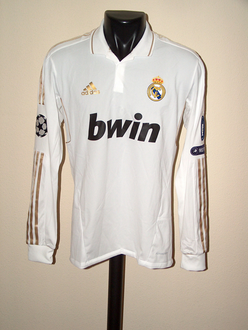eaeccc1ae Champions League 11-12. Home Shirt. Benzema. Real Madrid ...