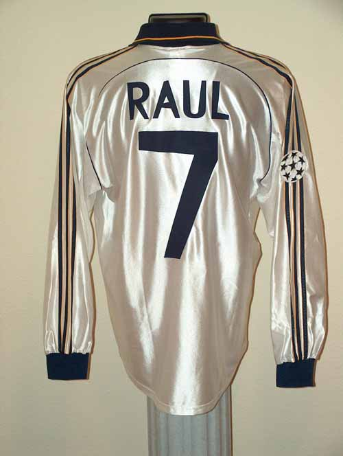 3b41ebcfc39 Intercontinental Cup Final 98-99. Home Shirt. Raul. Real Madrid ...